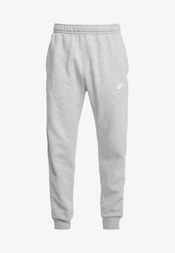 CLUB - Pantaloni sportivi - dark grey heather/matte silver/white
