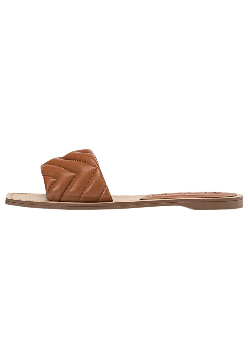 Stradivarius - Pantofle - brown