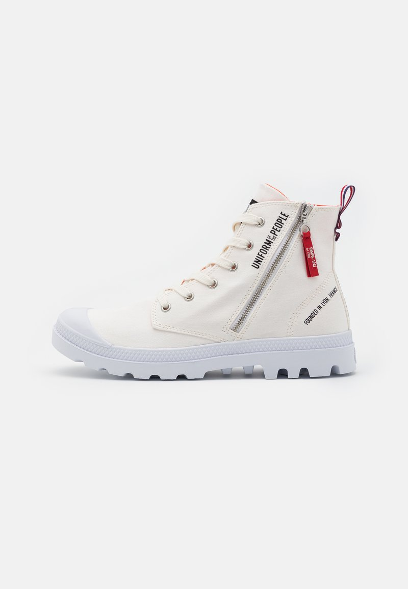 Palladium - PAMPA OUT UNISEX - High-top trainers - star white