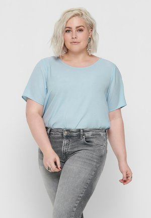 OBERTEIL EINFARBIGES CURVY - Blouse - kentucky blue