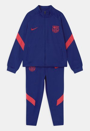 FC BARCELONA SET UNISEX - Equipación de clubes - deep royal blue/fusion red