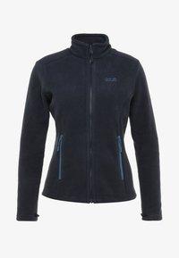 Jack Wolfskin - MOONRISE - Fleece jacket - midnight blue - 4