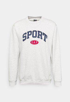 SPORT LOGO CREW - Sweatshirt - light heather grey