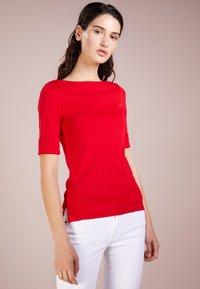 Lauren Ralph Lauren - Basic T-shirt - lipstick red - 0