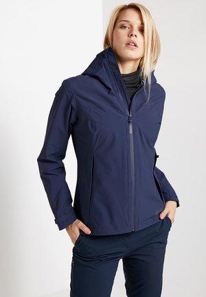 SHELL - Hardshell jacket - lapiz blue