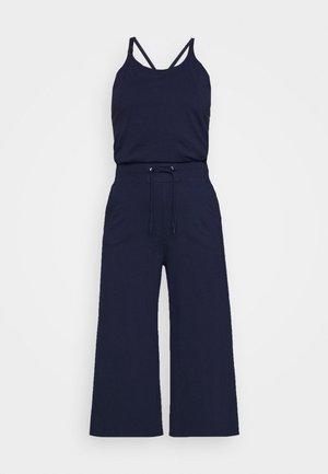 UTILITY STRAP WMN S\LESS - Jumpsuit - sartho blue