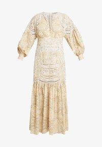 Thurley - MUSE DRESS - Długa sukienka - gold raid tile - 4