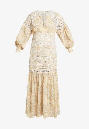 MUSE DRESS - Maxi-jurk - gold raid tile