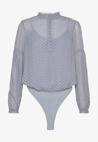 Forever New - BUTTON DOWN  WITH TRIM DETAIL - Body - silver dusk - 4