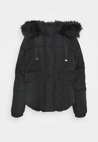River Island - CHUBBY PUFFER - Winter jacket - black - 2