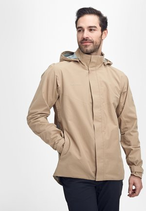TROVAT - Hardshell jacket - brown