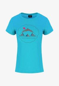 IZAS - T-shirt imprimé - turquoise - 6