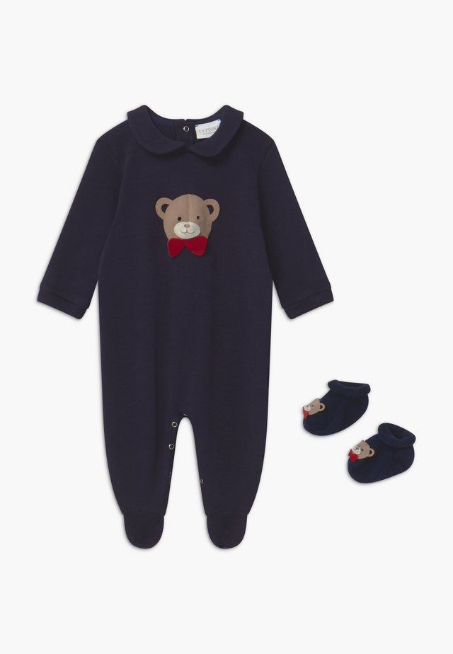 GIFT-BOX ORSACCHIOTTO SET - Babypresenter - blue navy