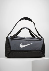 Nike Performance - DUFF - Sports bag - flint grey/black/white - 0
