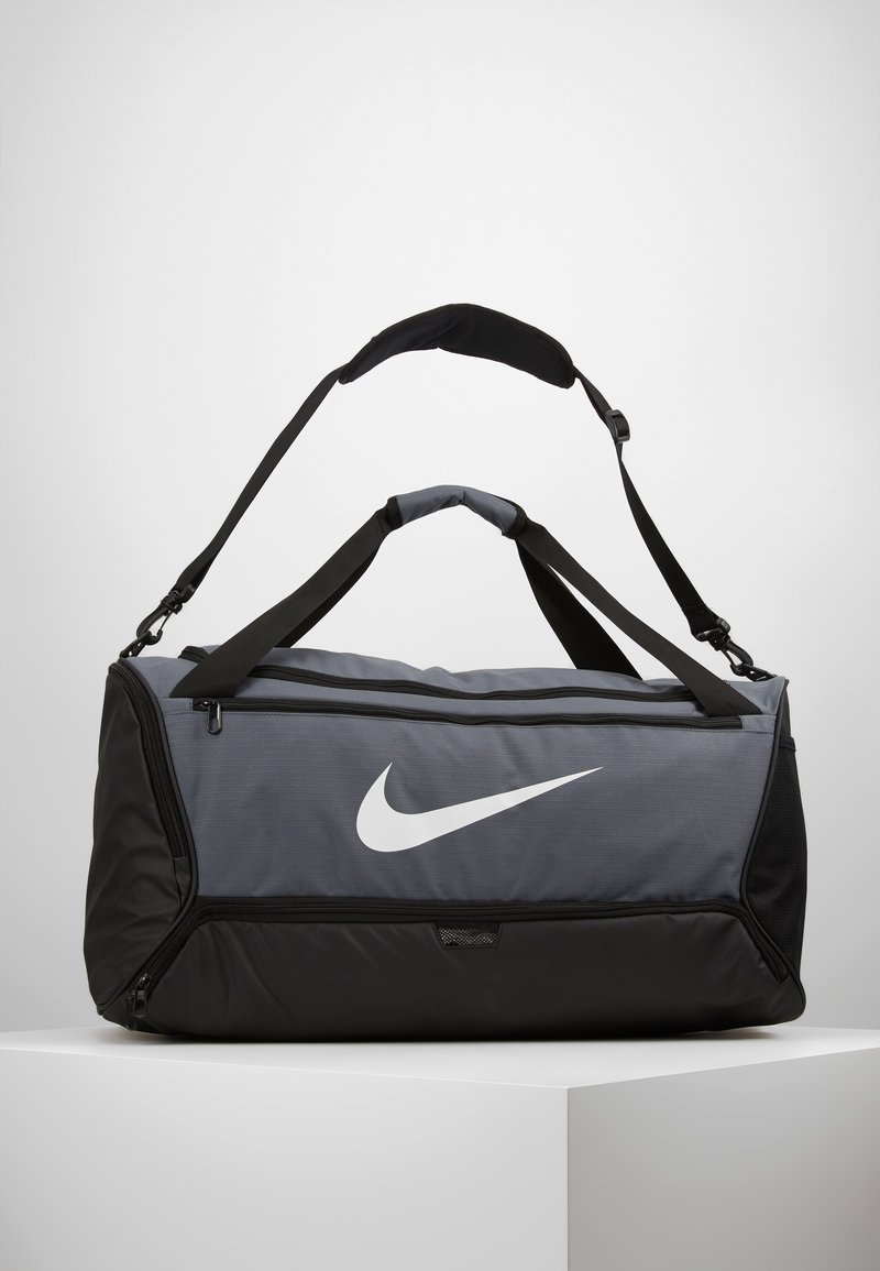 Nike Performance - DUFF - Sports bag - flint grey/black/white