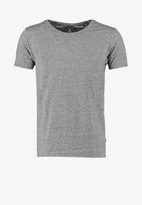 Basic T-shirt - charcoal melange