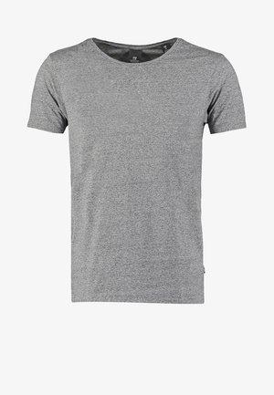 T-shirt - bas - charcoal melange