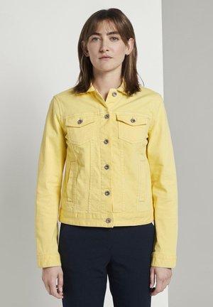 JACKEN & JACKETS JEANSJACKE - Denim jacket - jasmine yellow