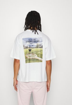 LUX TEE UNISEX - T-shirt print - white