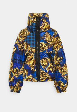 OUTERWEAR - Down jacket - blue/gold