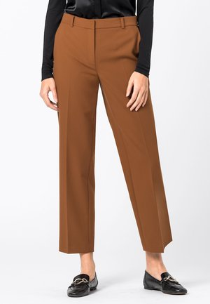 Trousers - zimt