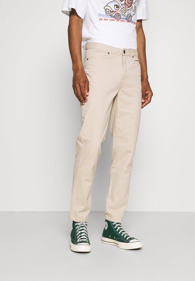 Chino kalhoty - stone