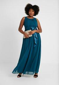 Dorothy Perkins Curve - NATALIE MAXI - Společenské šaty - dark green - 1