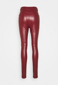 Missguided Tall - TROUSER - Bukse - wine - 1