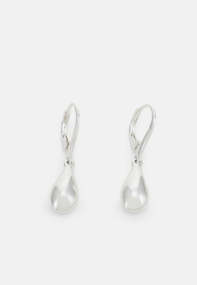 TEARDROP - Boucles d'oreilles - silver-coloured