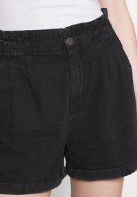 Noisy May - NMARIANNA  - Shorts di jeans - black - 4