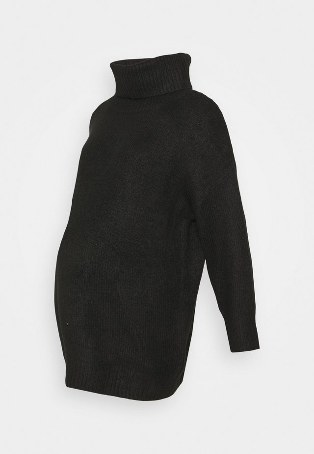 OVERSIZED ROLL - Jumper - black