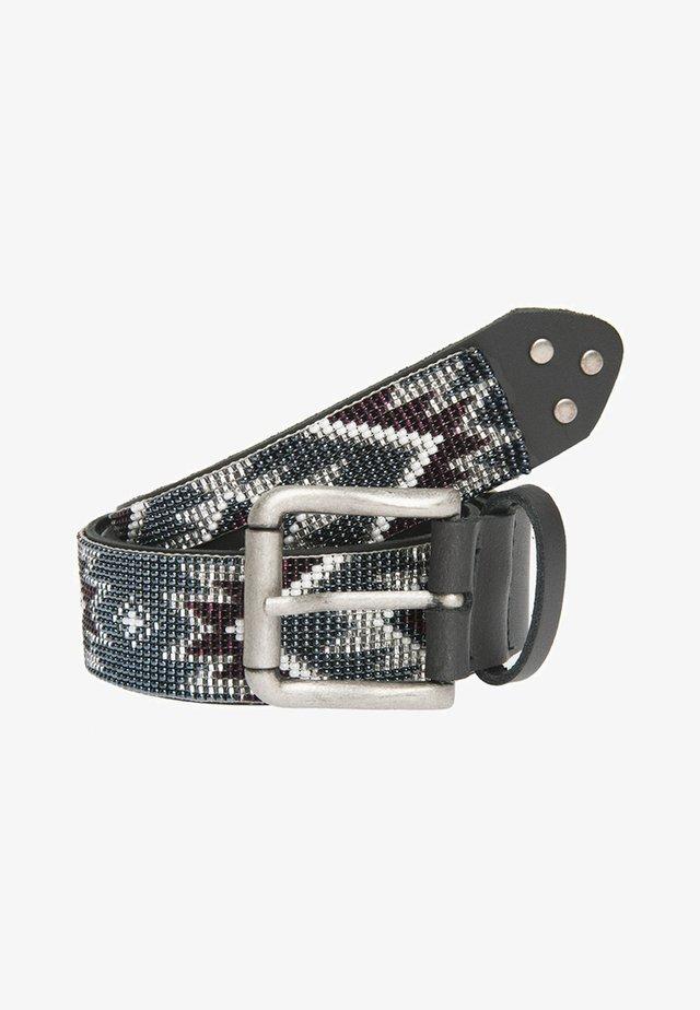 NAKOMA - Belt - grau/rot