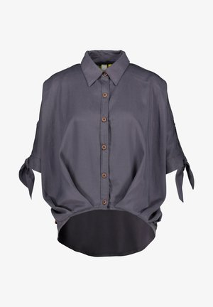 DONNAAK - Button-down blouse - charcoal