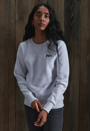 ORANGE LABEL CREW  - Sweatshirt - ice marl