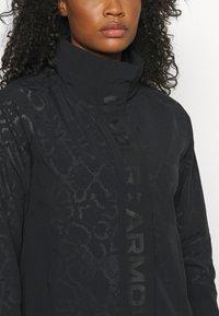 Under Armour - RUSH PRINT - Training jacket - black - 5
