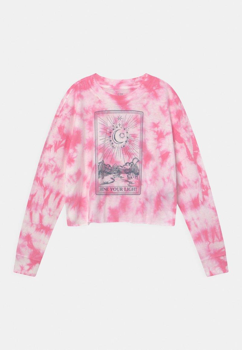 GAP - Top sdlouhým rukávem - pink