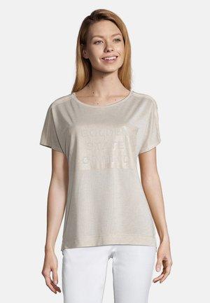 MIT PRINT - T-shirt print - beige