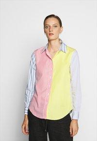 Lauren Ralph Lauren - JAMELKO LONG SLEEVE - Button-down blouse - multi coloured - 0