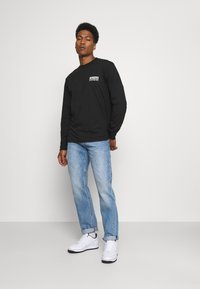 Dickies - WILLERNIE TEE - Long sleeved top - black - 1