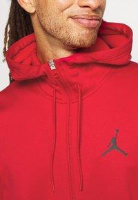 Jordan - AIR THERMA FULL ZIP - Forro polar - gym red/black - 5