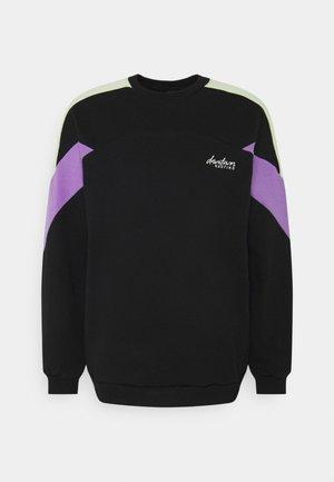 CREW SETH UNISEX - Sweatshirt - black