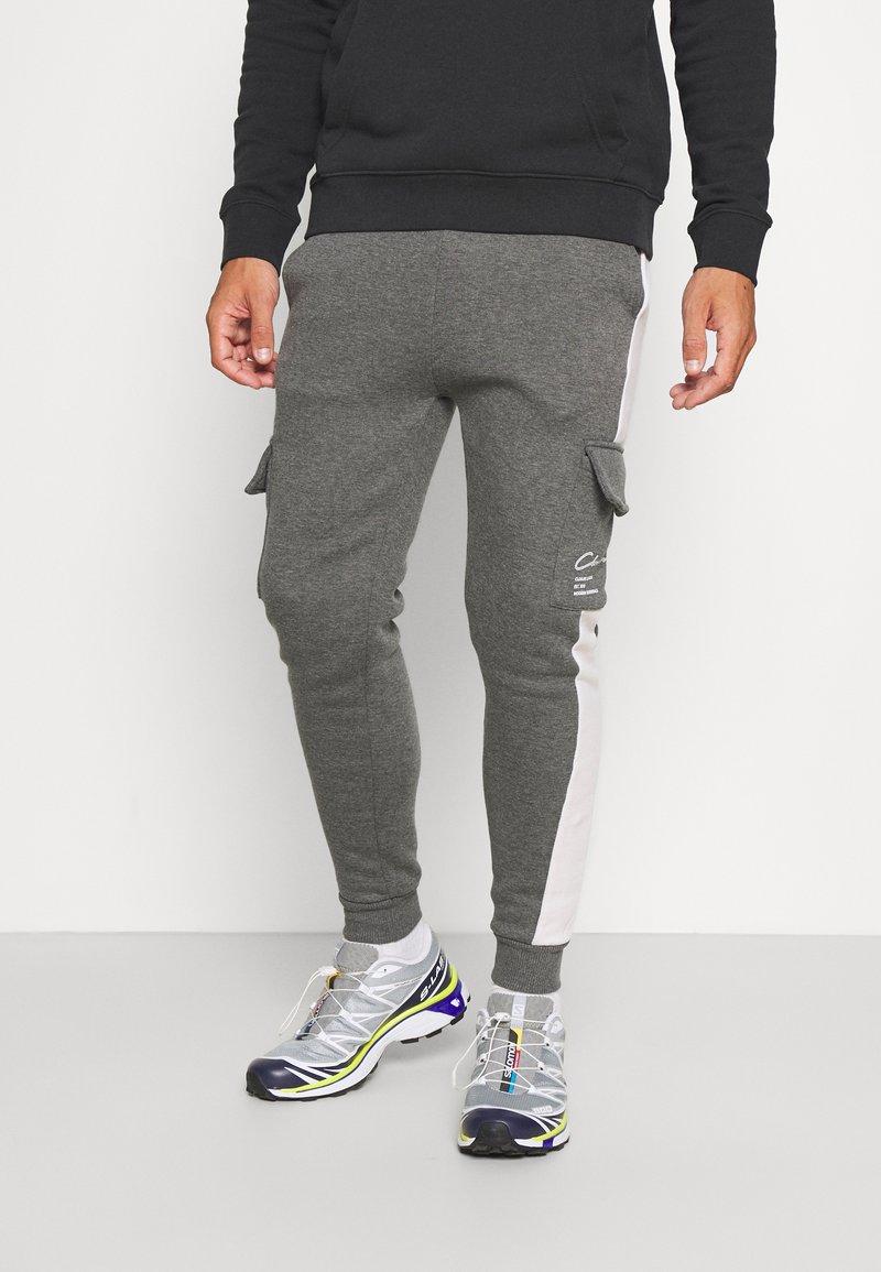 CLOSURE London - TECH UTILITY - Teplákové kalhoty - charcoal