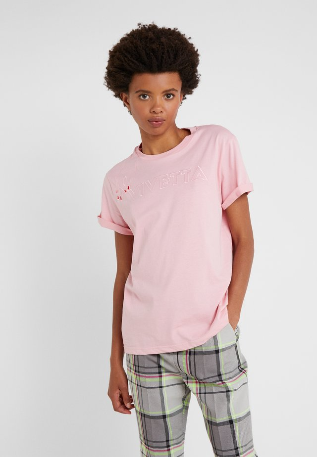 T-shirts med print - pink