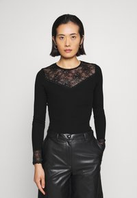 Rosemunde - Long sleeved top - black - 0