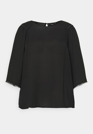 XDICTE  3/4 BLOUSE - Long sleeved top - black