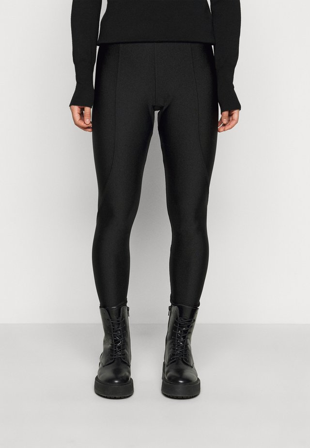 HIGH SHINE - Leggingsit - black