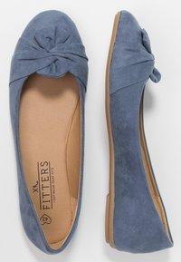 Fitters - MAIKE - Baleríny - blue - 1