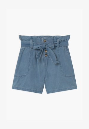 TEEN GIRL - Denim shorts - jeansblau