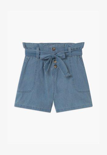 TEEN GIRL - Denim shorts - jeansblau
