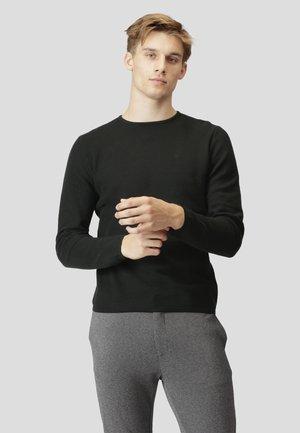 LAURITZ - Langærmede T-shirts - black